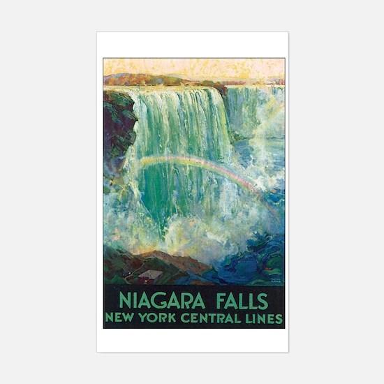 Niagara Falls Rectangle Decal