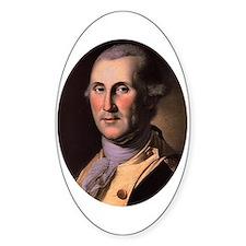 George Washington Oval Decal