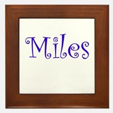 MILES Framed Tile