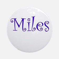 MILES Ornament (Round)