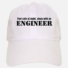 Feel Safe with an Engineer Baseball Baseball Cap