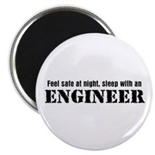 Feel Safe with an Engineer Magnet