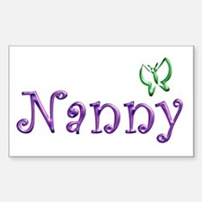 Nanny Rectangle Decal
