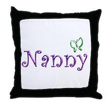 Nanny Throw Pillow