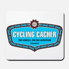 Cycling Cacher Mousepad