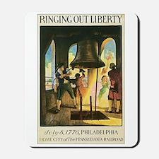 Liberty Bell 1776 Mousepad