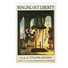 Liberty Bell 1776 Postcards (Package of 8)