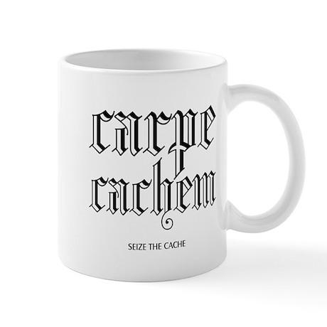 Carpe Cachem Mug