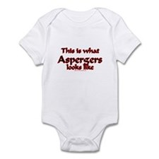 This Is What Asperger's Looks Infant Bodysuit