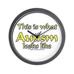 This Is What Autism's Looks L Wall Clock