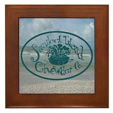 Sanibel Chowder Framed Tile