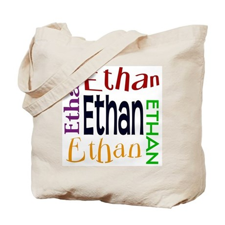 Ethan's Color Block Tote Bag