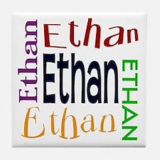 Ethan's Color Block Tile Coaster