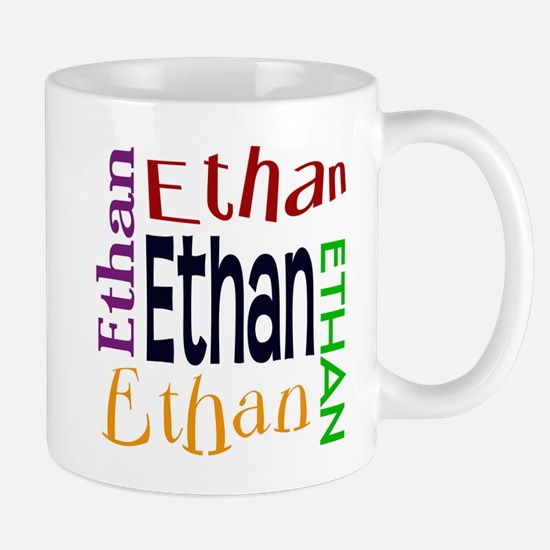 Ethan's Color Block Mug