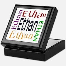 Ethan's Color Block Keepsake Box