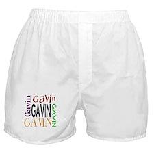 Gavin's Color Block Boxer Shorts