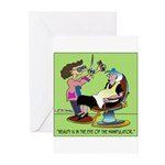 Beauty Manipulator Greeting Cards (Pk of 10)