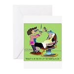 Beauty Manipulator Greeting Cards (Pk of 10)