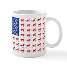 Original Patriotic Horse Flag Mug