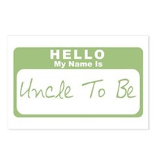 My Name Is Uncle To Be (Green) Postcards (Package