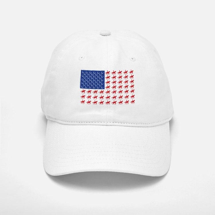 usa patriotic baseball caps mlb hats original horse flag cap