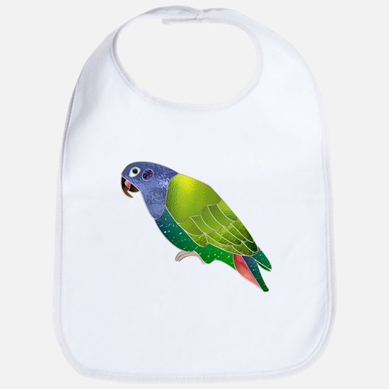 Stained Glass Pionus Parrot Bib