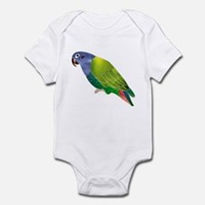 Stained Glass Pionus Parrot Infant Creeper
