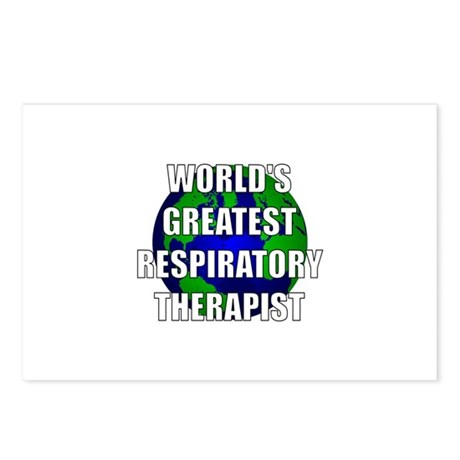 World's Greatest Respiratory Postcards (Package of