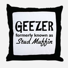Geezer Throw Pillow