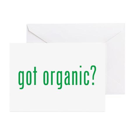 got organic? Greeting Cards (Pk of 10)