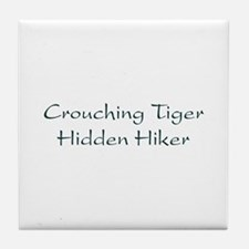 Hidden Hiker Tile Coaster