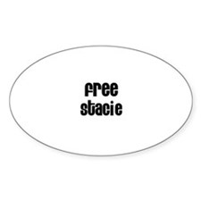 Free Stacie Oval Decal