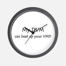 My DVM can beat up your VMD Wall Clock