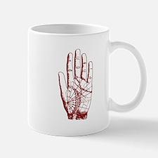 Astrological Palm Map Mug