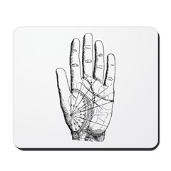 Astrological Palm Map Mousepad