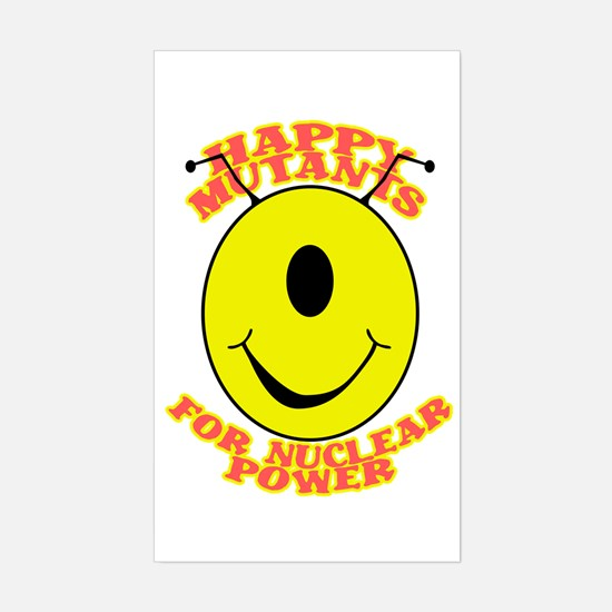 Happy Mutants for Nuclear Pow Rectangle Decal