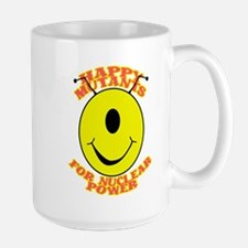 Happy Mutants for Nuclear Pow Large Mug