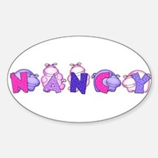 Nancy in Hippos Decal
