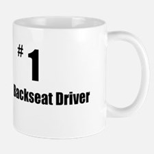 backseat driver Mugs