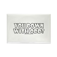 You Down W/ ODD? Rectangle Magnet
