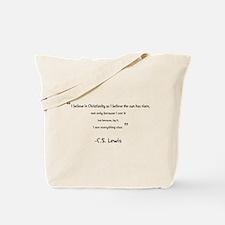 Cute C quote Tote Bag