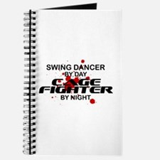 Swing Dancer Cage Fighter by Night Journal