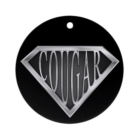 SuperCougar(metal) Ornament (Round)