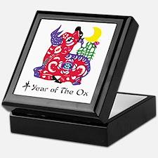 Year Of The Ox Keepsake Box