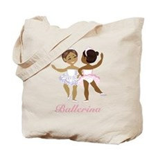 Ballerina(black) Tote Bag