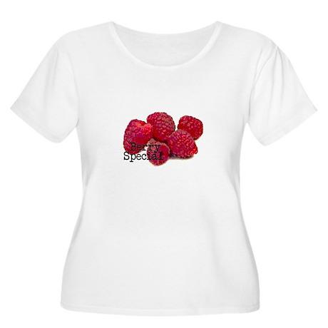 Berry Special Raspberries Women's Plus Size Scoop
