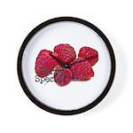 Berry Special Raspberries Wall Clock