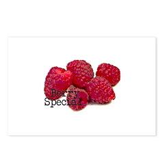 Berry Special Raspberries Postcards (Package of 8)