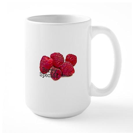 Berry Special Raspberries Large Mug