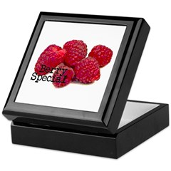 Berry Special Raspberries Keepsake Box